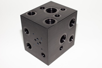 Hydraulic Manifold Block Anodized