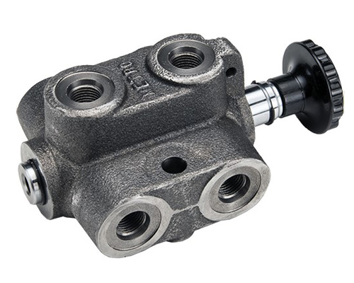 DS: Double Selector Hydraulic valve 6 way