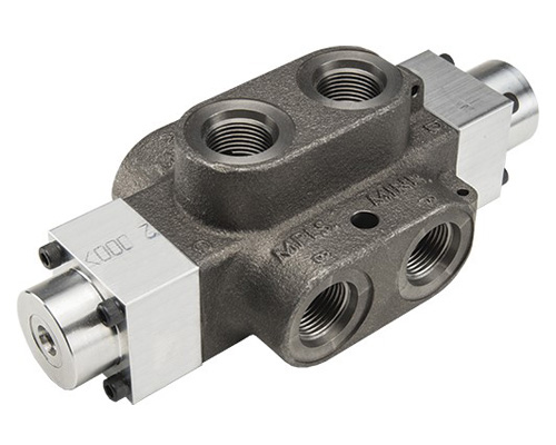 MDS: Double Selector Hydraulic valve 6 way, pilot operated
