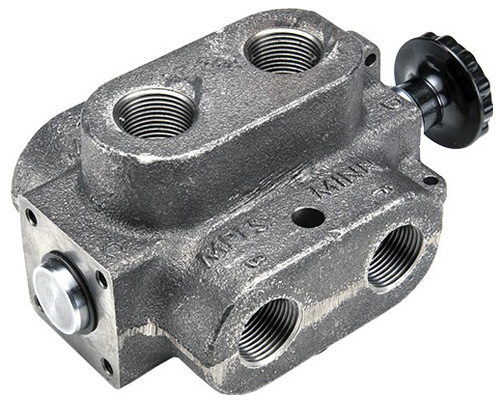 MDS: Double Selector Hydraulic valve 6 way