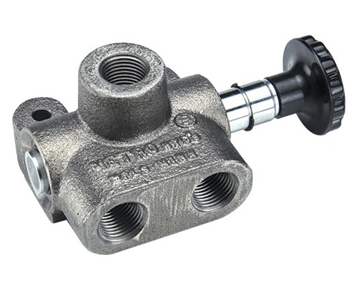 MV: Single Selector Hydraulic Valve 3 way